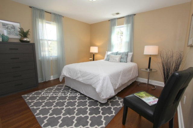 Staging Smaller Bedrooms